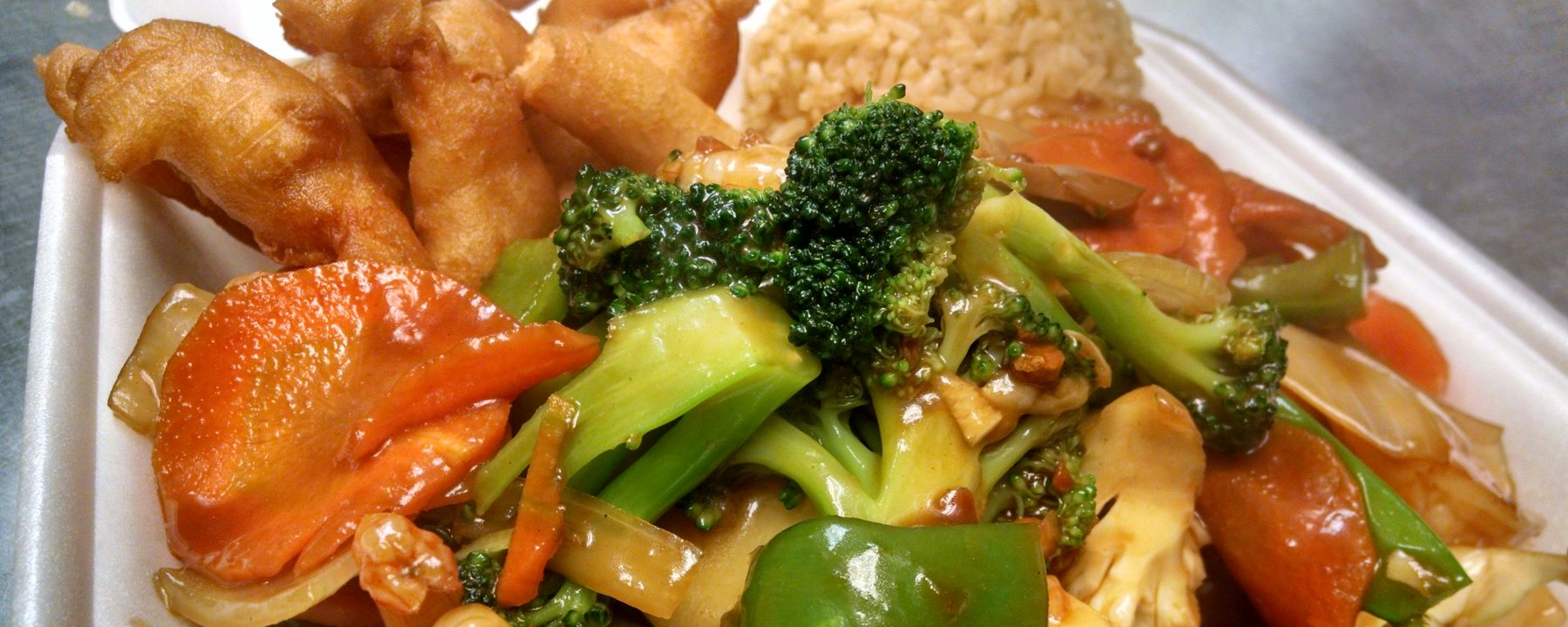 Chicken And Broccoli In Wok